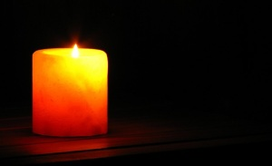 Picture of a Candle in the Dark